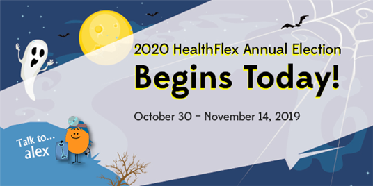Graphic for 2020 HealthFlex Annual Election