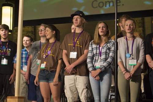 Photo of RMC young people